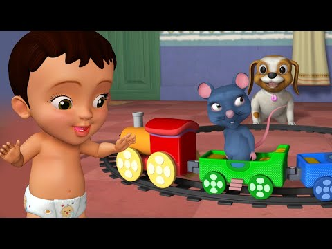 Download Railu Aṭavannu Aḍalu Banni - Train Song | Kannada Rhymes for Children | Infobells
