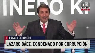 Feinmann, sobre la condena a Lázaro Báez: