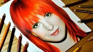 Drawing Hayley Williams