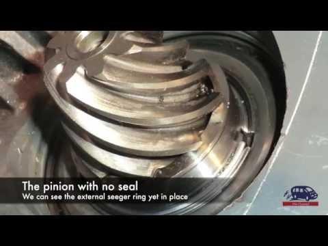 Tool kit for Audi 01J Multitronic rebuilding