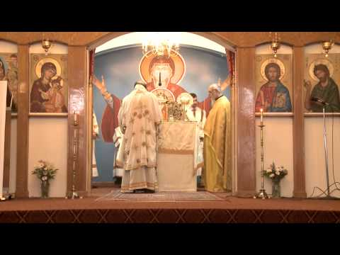 Divine Liturgy at St. Mary Antiochian Orthodox Church of Berkley, MI