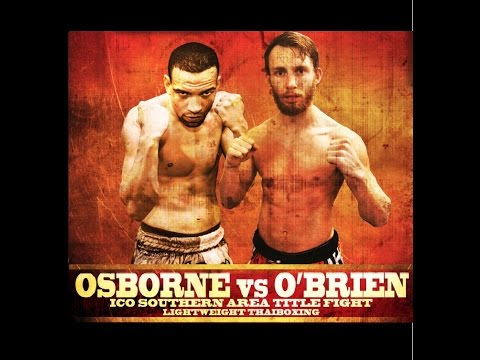 Kyron Osborne vs Morgan O'brien