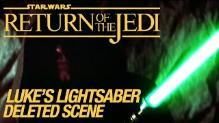 Star Wars VI Return of the Jedi Deleted Scene: Luke