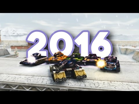 Tanki Online Best Moments 2016 by Claudiu