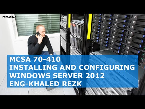06-MCSA 70-410 (Managing Active Directory Domain Services Objects)By Eng-Khaled Rezk | Arabic