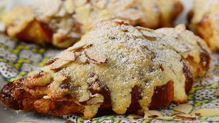Almond Croissants Recipe Demonstration - Joyofbaking.com