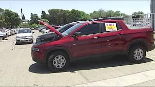 Usuarios de vehículos Fiat Toro protestaron frente a la fábrica
