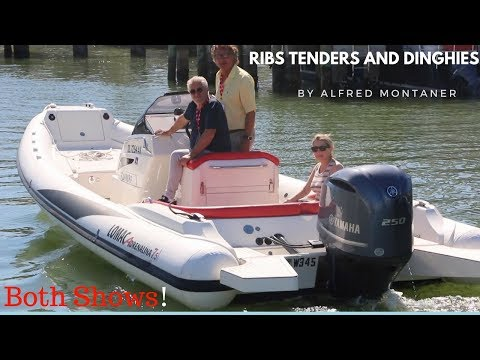 2018 Mibs Boat Show - Ribs Tenders and Dinghies (Miami International Boat Show Part 2 )