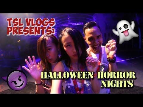 HALLOWEEN HORROR NIGHTS 2016 - FIRST LOOK! | TSL Vlogs
