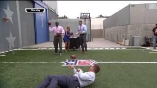 Landry & Beckham Jr. Have Spectacular Catch Battle