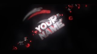 FREE Crazy Dark Themed Intro Template | Cinema 4D & After Effects Template + FULL Tutorial