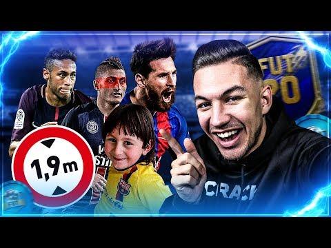 DRAFT AVEC LES JOUEURS LES PLUS PETITS !! FIFA 20