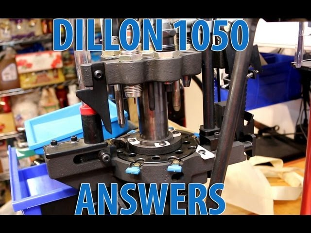Buying a Dillon 1050 - What else you may want