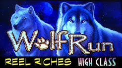 Reel Riches 💰 FREE PLAY on Wolf Run 🐺 The Slot Cats 🎰😸😺