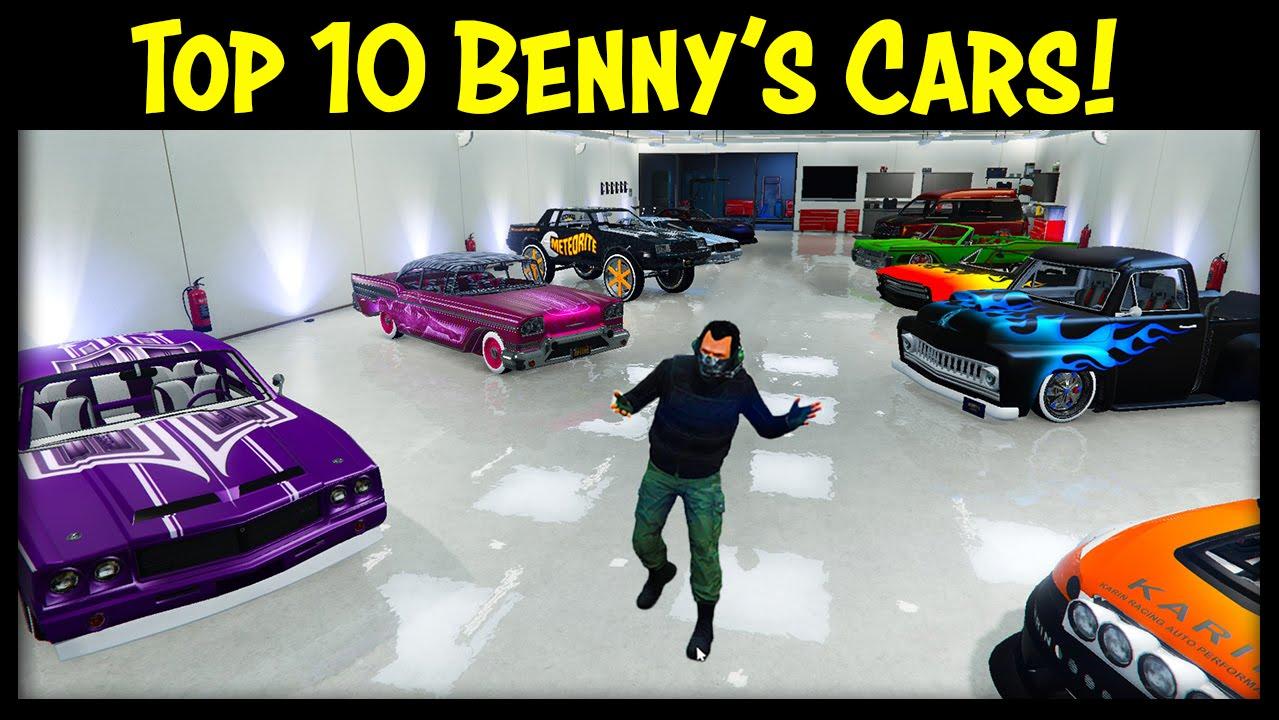 Gta  Benny S Cars