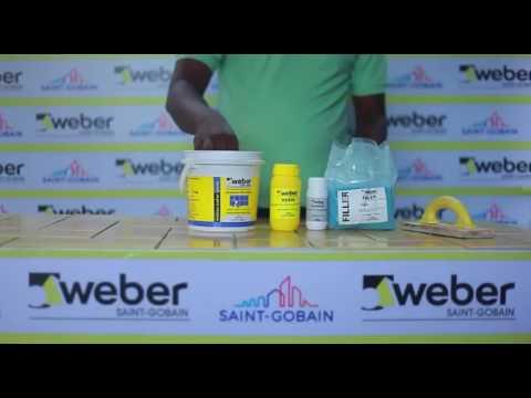 Weber Epoxy Tile Joint Filler