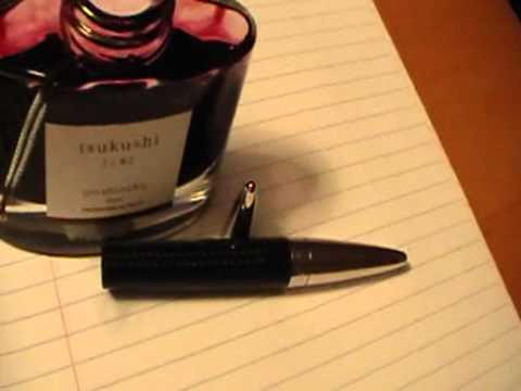 Jorg Hysek Carbon Fiber Fountain pen