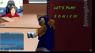 LET'S PLAY SONIC THE HEDGEHOG - Roblox