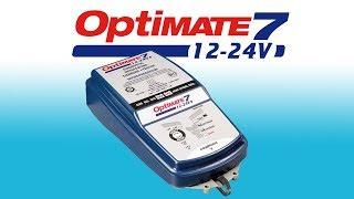 Optimate 7 12-24V TM260: Обзор зарядного устройства