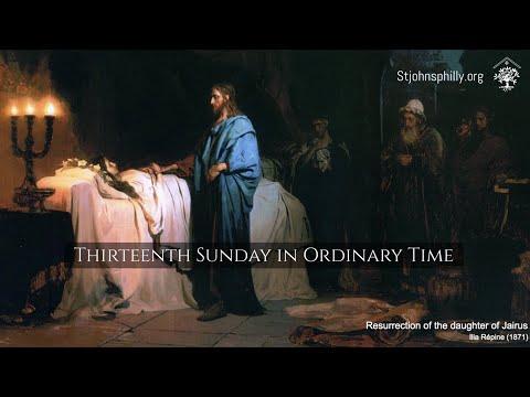 Thirteenth Sunday in Ordinary Time