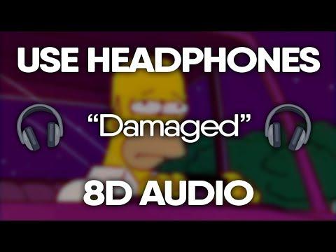 Post Malone, XXXTENTACION – Damaged (8D Audio) 🎧