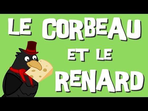 Le Corbeau et le Renard (version moderne) - Fables de La Fontaine