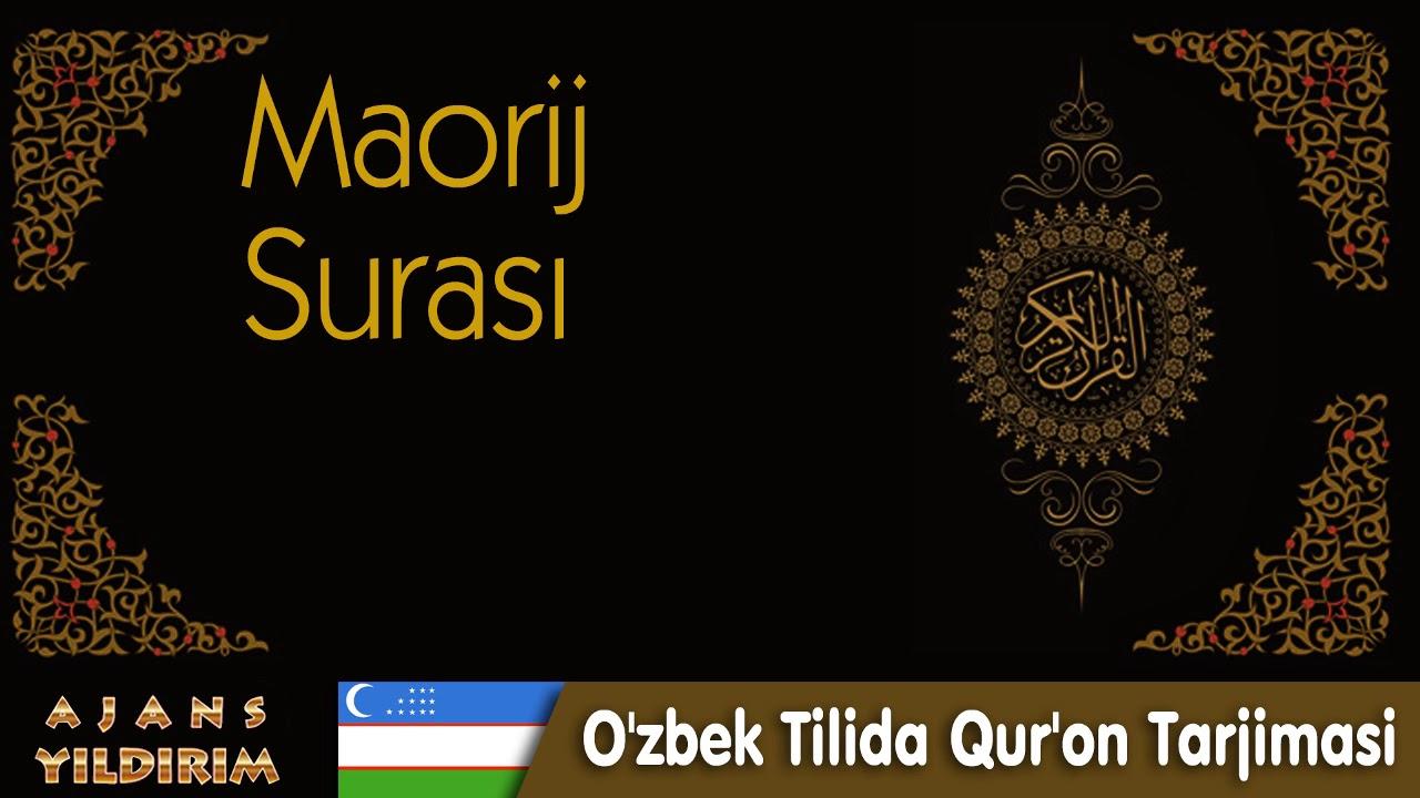 070  - Maorij  - O'zbek Tilida Qur'on Tarjimasi MyTub.uz