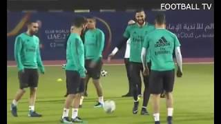 Real Madrid Final training Before the FIFA CLUB WORLD CUP VS Al Jazira