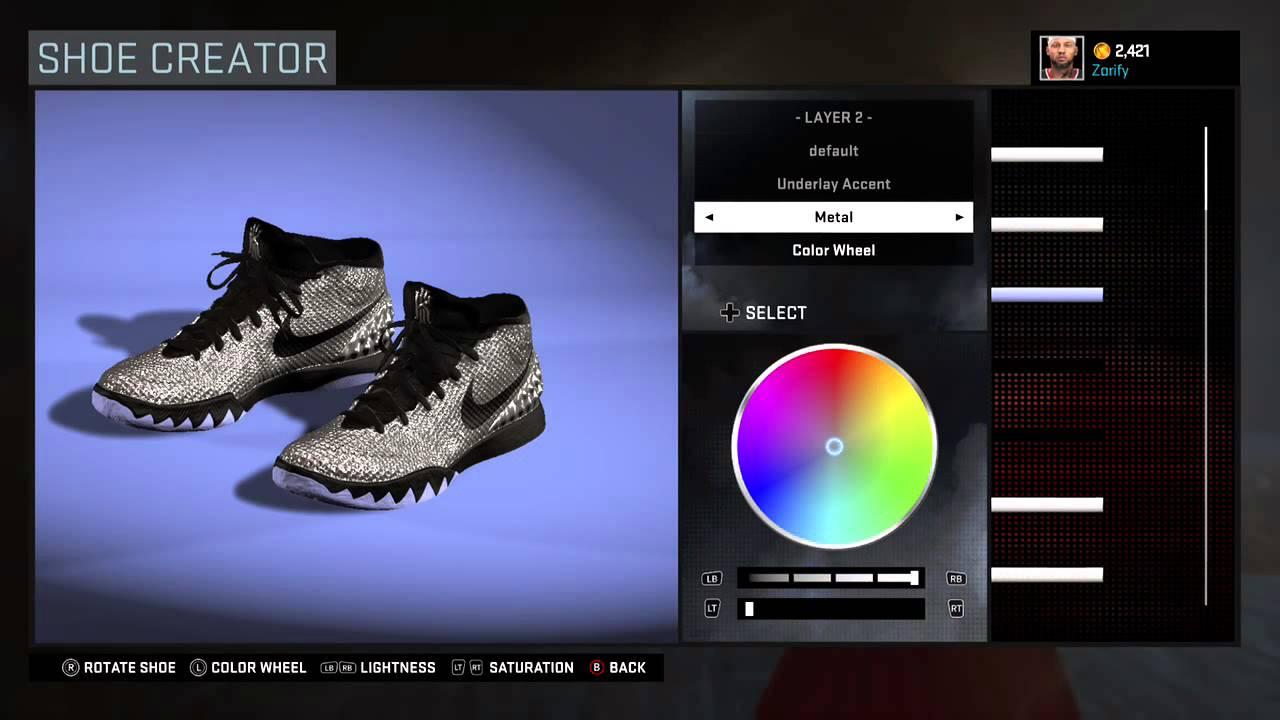 NBA 2K16 Shoe Creator - Nike Kyrie 1 Custom