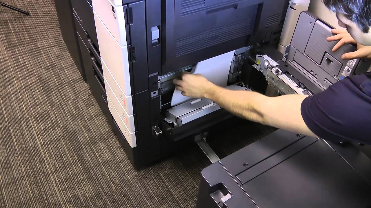 CDS Office Technologies 654 754 TroubleShooting - YouTube