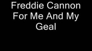 Freddie Cannon graba junto Frank Slay y Su New Orleans Band,Mi Chic...