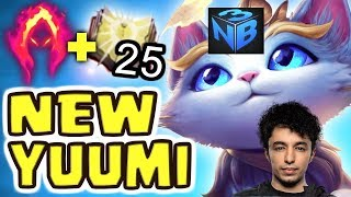 NB3 NEW YUUMI CHAMPION HIGHLIGHT THE BEST CHAMPION EVER  league of legends montage NightBlue3
