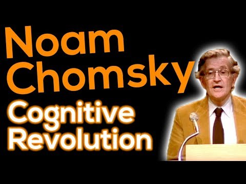 Killian Lecture: Noam Chomsky – Language and the 'Cognitive Revolution'