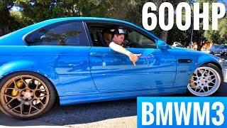 Буксуем на BMW M3 E46 3.7 TURBO 600 сил в Лос-Анджелесе!) Новый тест-обзор из Ghost Motorsports!)