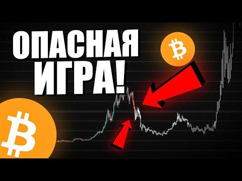 БИТКОИН: Готовится Большая ОПАСНАЯ Игра! Мой сценарии развития цены по Bitcoin BTC июнь 2021
