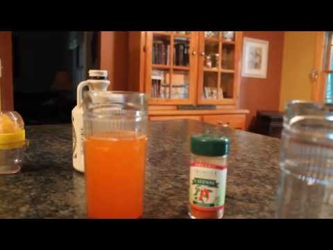 Migraine killed by Cayenne pepper drink