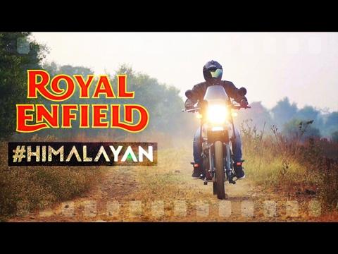 MY ROYAL ENFIELD HIMALAYAN