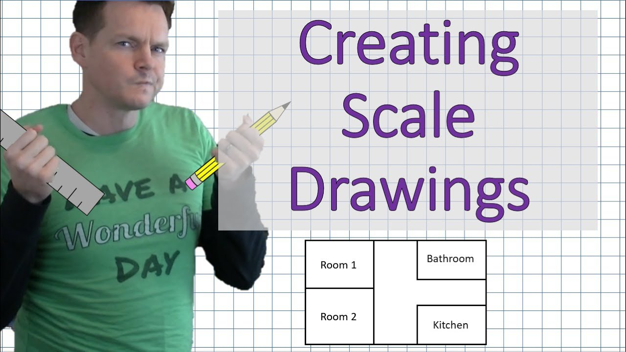 How To Make A Scale Drawing 7th Grade