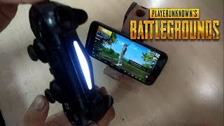 HOW TO CONNECT PS4 CONTROLLER ON PUBG MOBILE ( HINDI)