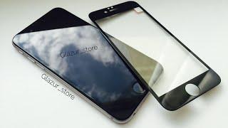 Защитное стекло на/для iphone 6s/6splus на весь экран(Всем привет glazur store на связи. Сегодня мы расскажем о полноценной защите айфон, а именно о защитных стекла..., 2016-06-16T18:45:38.000Z)