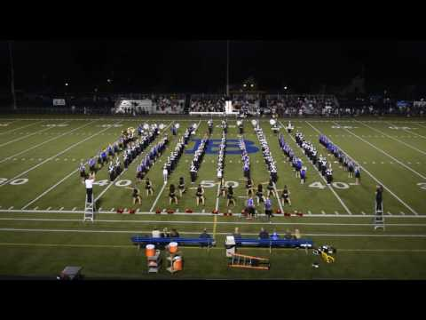 Bexley and Whitehall Bands Halftime 9-15-16