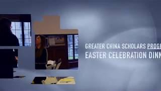 Greater China Scholars Easter Celebration Dinner