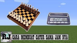 CARA MEMBUAT CATUR DENGAN JAM NYA NO MOD || MINECRAFT INDONESIA TUTORIAL