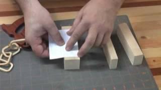 Chain Saw,scroll Saw Pattern Demonstration Part One