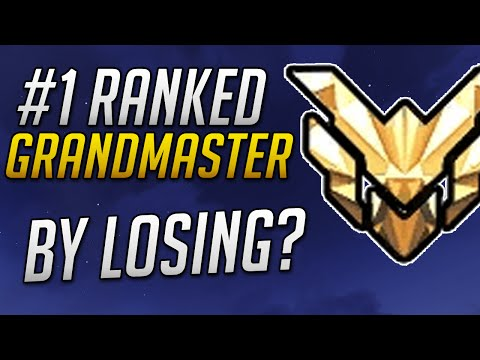 Overwatch - World's #1 Ranked Grandmaster with 0% win rate