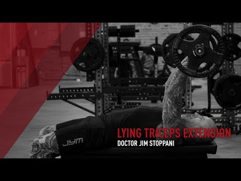 How To Do The Lying Triceps Extension Exercise