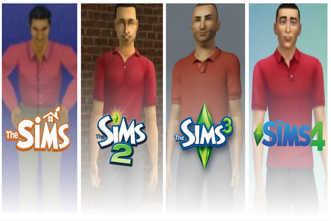 Sims 1 sims 2 sims 3 sims 4 cas evolution youtube for Sims 3 spielideen