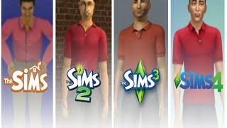 ♦ Sims 1 - Sims 2 - Sims 3 - Sims 4 : CAS - Evolution