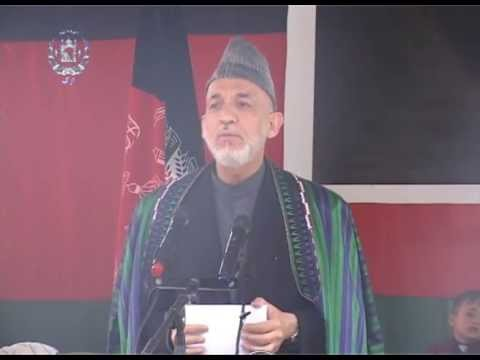 President Karzai's visit to Farah Province -- Full video