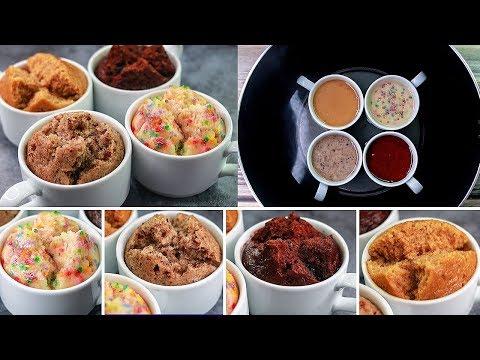 10 Mins Mug Cake Recipe | Eggless & Without Oven | Steam Mug Cake Recipe | Yummy